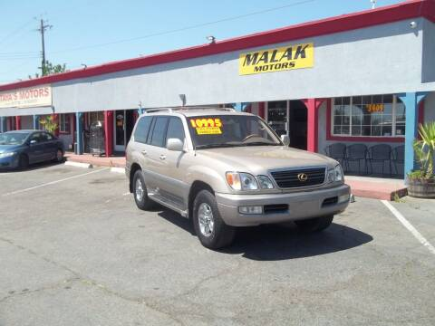 2000 Lexus LX 470 for sale at Atayas Motors INC #1 in Sacramento CA