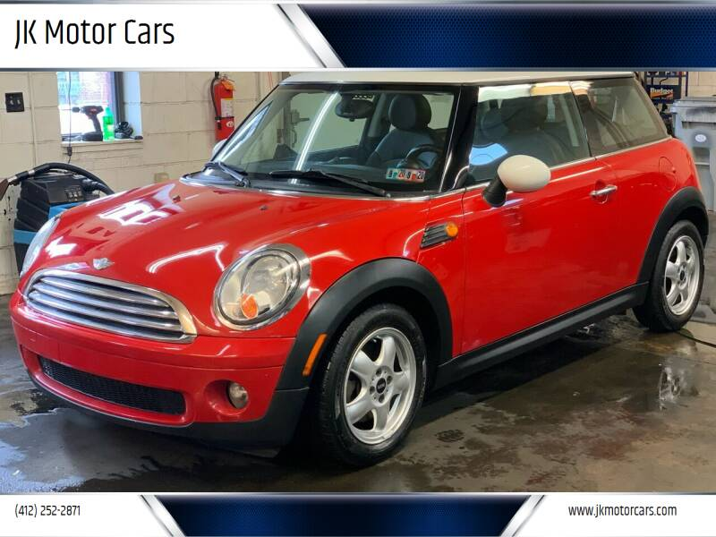 2010 MINI Cooper for sale at JK Motor Cars in Pittsburgh PA