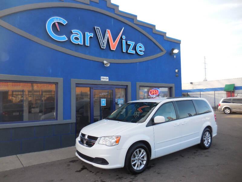 2014 Dodge Grand Caravan for sale at Carwize in Detroit MI