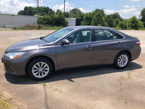 2015 Toyota Camry for sale at Haynes Auto Sales Inc in Anderson SC