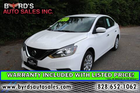 2016 Nissan Sentra for sale at Byrds Auto Sales in Marion NC