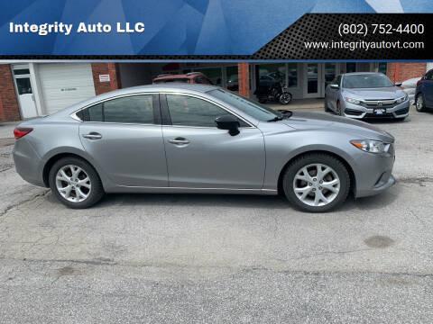 2014 Mazda MAZDA6 for sale at Integrity Auto LLC in Sheldon VT