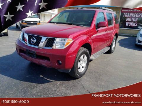 2006 Nissan Pathfinder for sale at Frankfort Motorworks in Frankfort IL