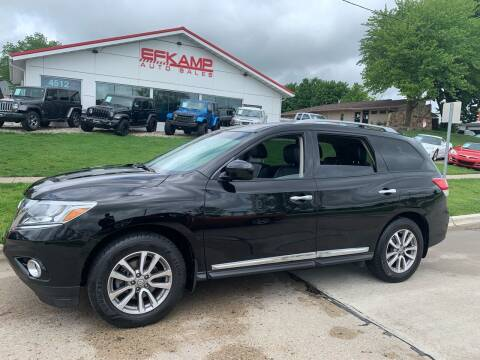 2014 Nissan Pathfinder for sale at Efkamp Auto Sales LLC in Des Moines IA
