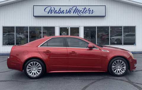 2010 Cadillac CTS for sale at Wabash Motors in Terre Haute IN