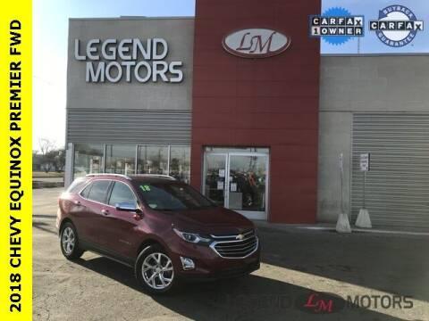 2018 Chevrolet Equinox for sale at Legend Motors of Detroit - Legend Motors of Ferndale in Ferndale MI