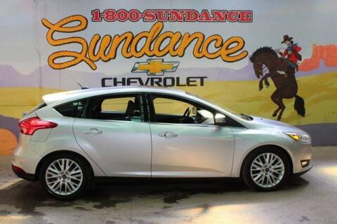 2018 Ford Focus for sale at Sundance Chevrolet in Grand Ledge MI