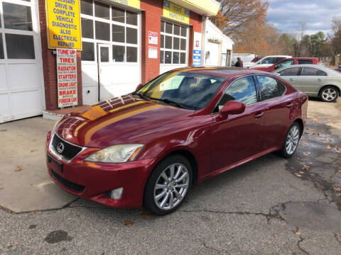 2008 Lexus IS 250 for sale at Barga Motors in Tewksbury MA