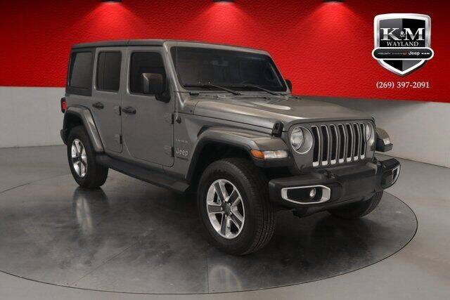 2018 Jeep Wrangler Unlimited for sale at K&M Wayland Chrysler  Dodge Jeep Ram in Wayland MI