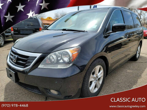 2008 Honda Odyssey for sale at Classic Auto in Greeley CO