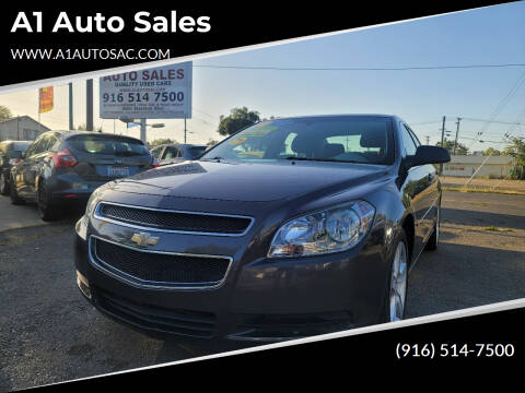 2010 Chevrolet Malibu for sale at A1 Auto Sales in Sacramento CA
