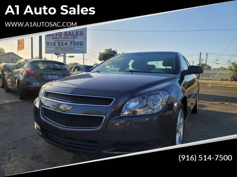 2010 Chevrolet Malibu for sale at A1 Auto Sales in Sacramento CA
