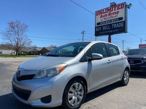 2013 Toyota Yaris for sale at Unlimited Auto Group in West Chester OH