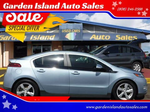 2015 Chevrolet Volt for sale at Garden Island Auto Sales in Lihue HI