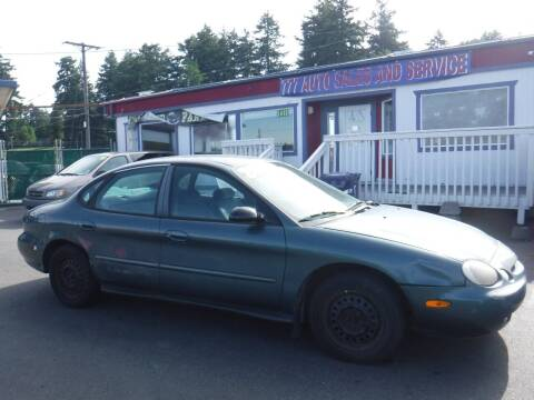 1997 Ford Taurus for sale at 777 Auto Sales and Service in Tacoma WA