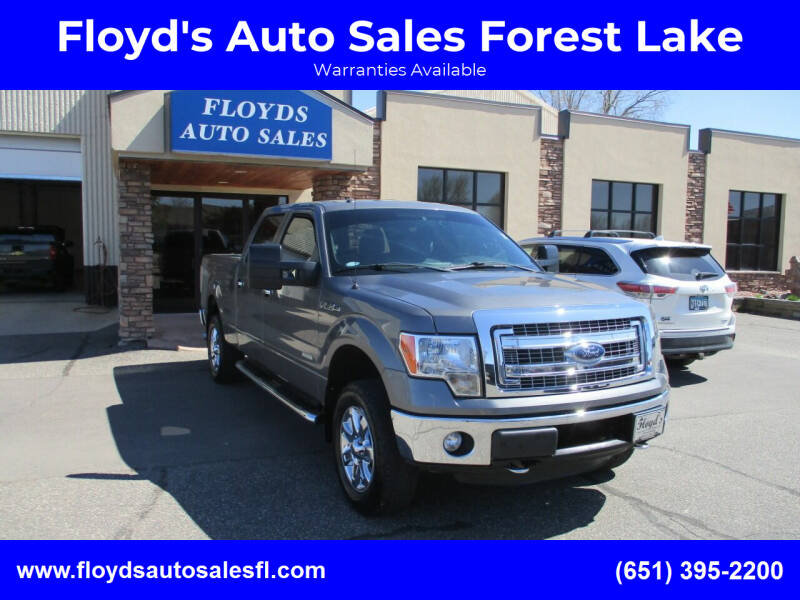 2013 Ford F-150 for sale at Floyd's Auto Sales Forest Lake in Forest Lake MN
