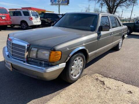 1989 Mercedes-Benz 420-Class for sale at Classic Car Deals in Cadillac MI