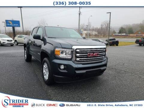 2017 GMC Canyon for sale at STRIDER BUICK GMC SUBARU in Asheboro NC