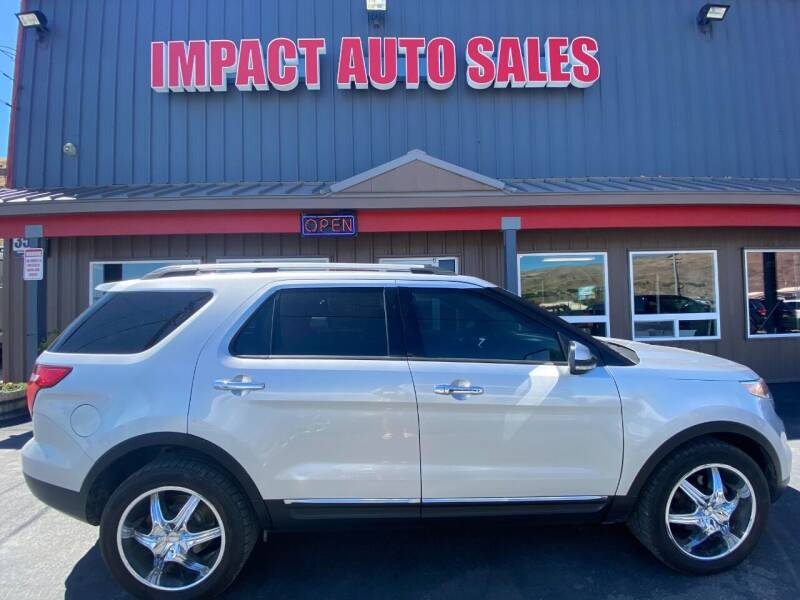 2013 Ford Explorer for sale at Impact Auto Sales in Wenatchee WA