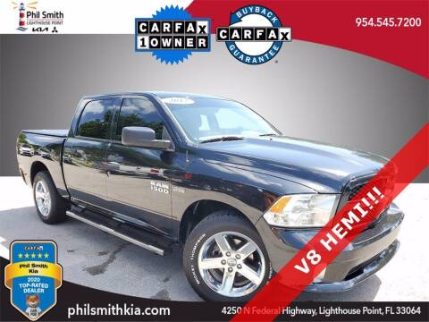 2017 RAM Ram Pickup 1500 for sale at PHIL SMITH AUTOMOTIVE GROUP - Phil Smith Kia in Lighthouse Point FL