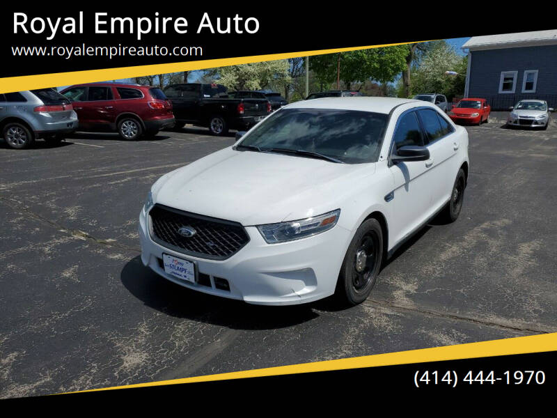 2013 Ford Taurus for sale at Royal Empire Auto in Milwaukee WI