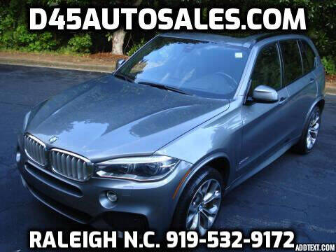 2014 BMW X5 for sale at D45 Auto Brokers in Raleigh NC
