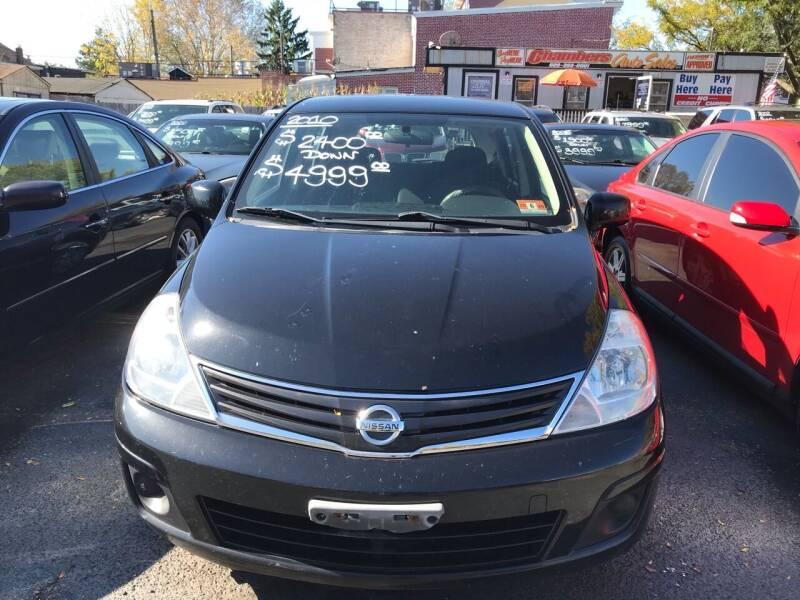 2010 Nissan Versa for sale at Chambers Auto Sales LLC in Trenton NJ