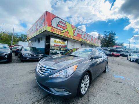 2012 Hyundai Sonata for sale at EXPORT AUTO SALES, INC. in Nashville TN