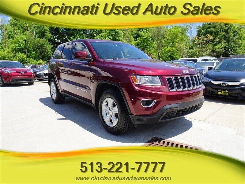 2016 Jeep Grand Cherokee for sale at Cincinnati Used Auto Sales in Cincinnati OH