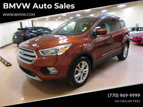 2017 Ford Escape for sale at BMVW Auto Sales in Union City GA