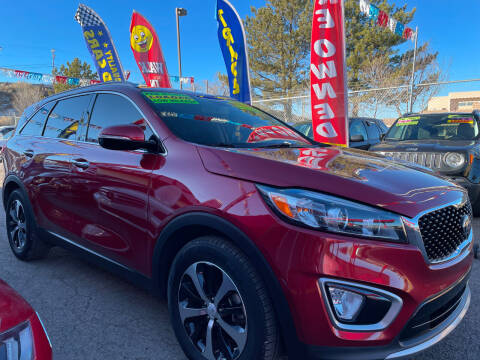 2017 Kia Sorento for sale at Duke City Auto LLC in Gallup NM