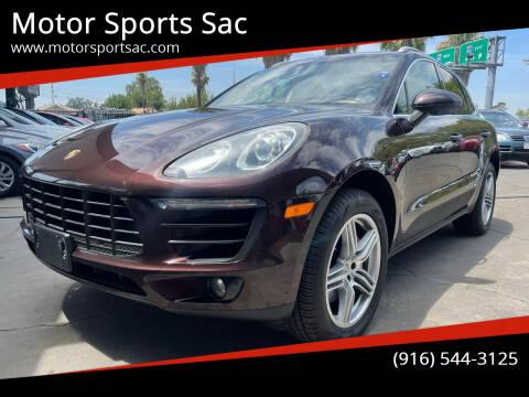 2015 Porsche Macan for sale at Motor Sports Sac in Sacramento CA