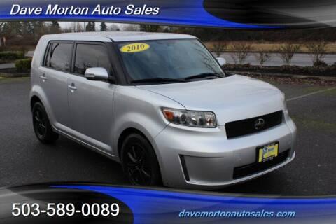 2010 Scion xB for sale at Dave Morton Auto Sales in Salem OR