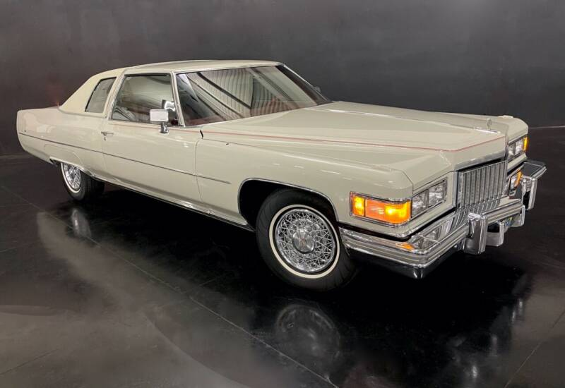 1975 Cadillac DeVille for sale at Pro Auto Showroom in Milpitas CA