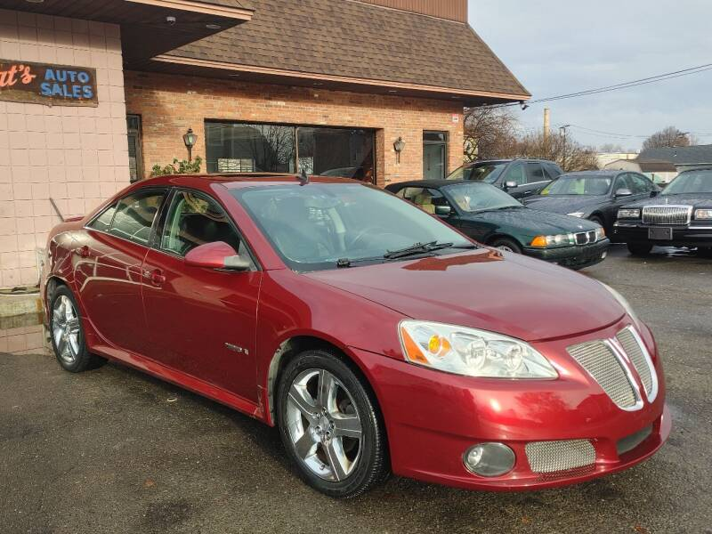 2008 Pontiac G6 for sale at Pat's Auto Sales, Inc. in West Springfield MA