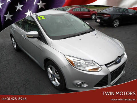 2012 Ford Focus for sale at TWIN MOTORS in Madison OH