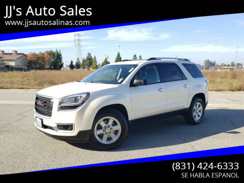 2015 GMC Acadia for sale at JJ's Auto Sales in Salinas CA