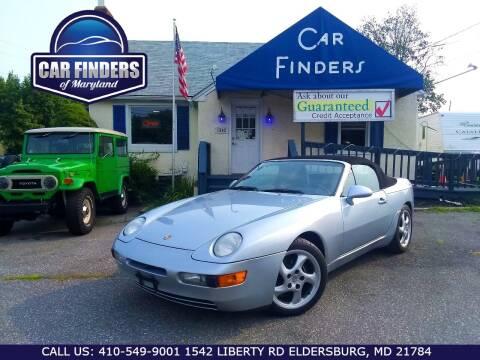 1994 Porsche 968 for sale at CAR FINDERS OF MARYLAND LLC - Classics in Eldersburg MD