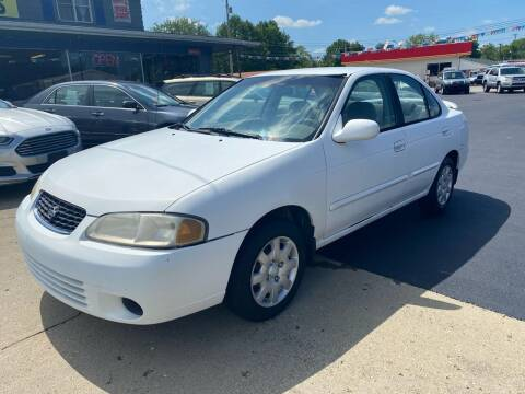 2001 Nissan Sentra for sale at Wise Investments Auto Sales in Sellersburg IN