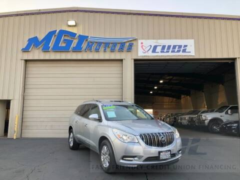 2014 Buick Enclave for sale at MGI Motors in Sacramento CA