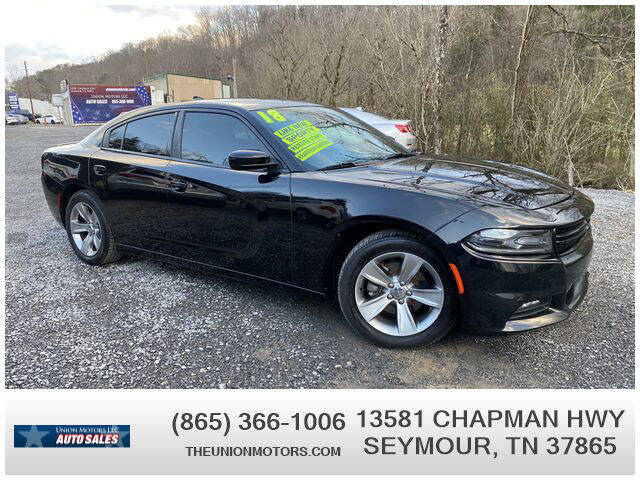 2018 Dodge Charger for sale at Union Motors in Seymour TN