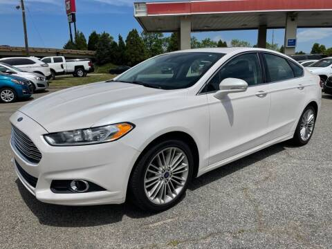 2016 Ford Fusion for sale at Modern Automotive in Boiling Springs SC