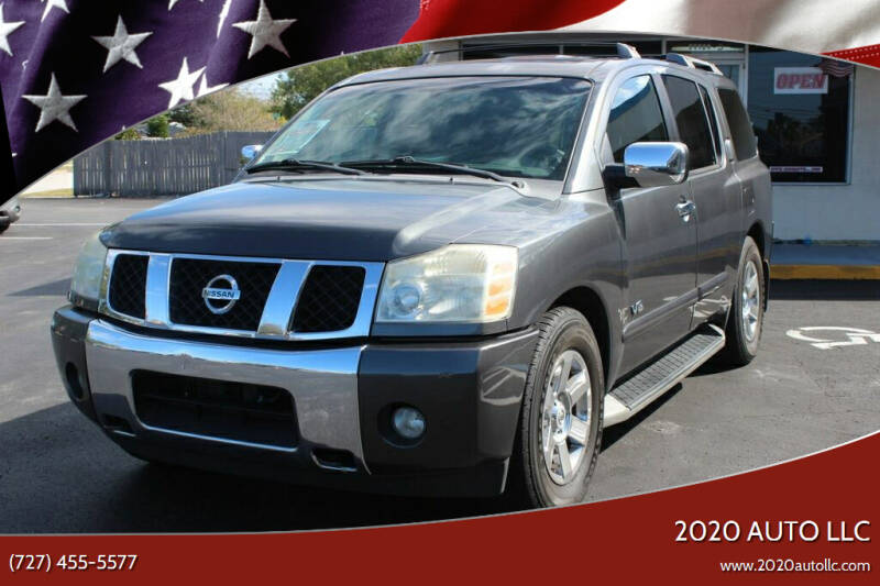2007 Nissan Armada for sale at 2020 AUTO LLC in Clearwater FL