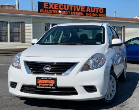 2014 Nissan Versa for sale at Executive Auto in Winchester VA