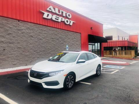 2017 Honda Civic for sale at Auto Depot of Madison in Madison TN