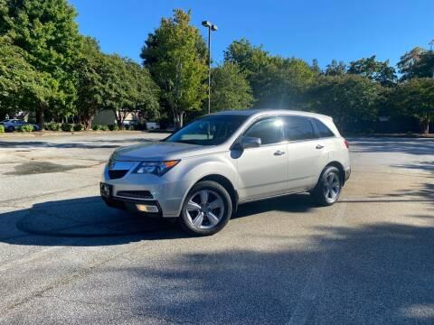 2012 Acura MDX for sale at Uniworld Auto Sales LLC. in Greensboro NC