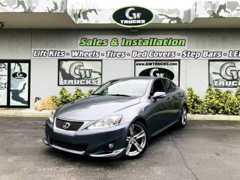 2012 Lexus IS 250 for sale at Greenway Auto Sales in Jacksonville FL