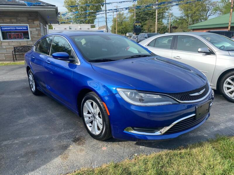 2016 Chrysler 200 for sale at Brucken Motors in Evansville IN