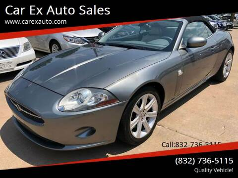 2007 Jaguar XK-Series for sale at Car Ex Auto Sales in Houston TX