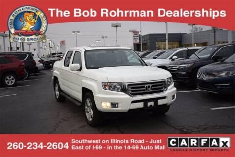 2014 Honda Ridgeline for sale at BOB ROHRMAN FORT WAYNE TOYOTA in Fort Wayne IN